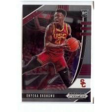 2020-21 Prizm Draft Picks Onyeka Okongwu #5 Base Rookie USC Trojans/Atlanta Hawks