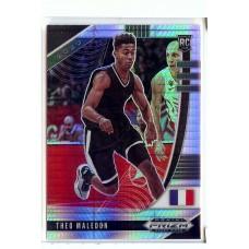 2020-21 Prizm Draft Picks Theo Maledon #17 Base Rookie Prizms Hyper International/Oklahoma City Thunder