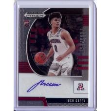 2020-21 Prizm Draft Picks Josh Green #21 Prospect Autographs Arizona Wildcats/Dallas Mavericks