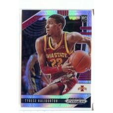 2020-21 Prizm Draft Picks Tyrese Haliburton #10 Base Rookie Prizms Hyper Iowa State Cyclones/Sacramento Kings