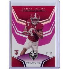 2020 Limited Jerry Jeudy #2 Phenoms Purple 13/25 Alabama Crimson Tide/Denver Broncos