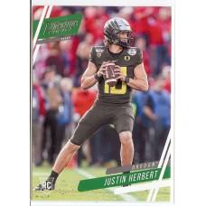 2020 Prestige Justin Herbert Draft Picks #4 Oregon Ducks/Los Angeles Chargers