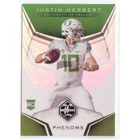 2020 Limited Justin Herbert Phenoms #4 Oregon Ducks/Los Angeles Chargers