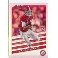 2020 Absolute Jerry Jeudy Rookies Spectrum #2 Alabama Crimson Tide/Denver Broncos
